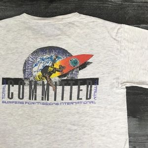 1990s G&S Surfing Single Stitch T-shirt
